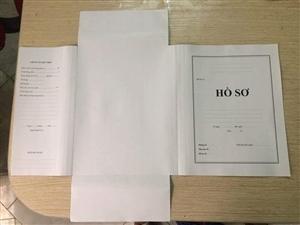 Bìa lưu trữ hồ sơ A4