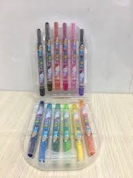 Bút sáp vặn 12 màu BC601