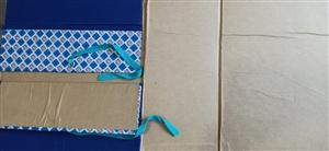 Cặp hộp gáy vải A3 10cm