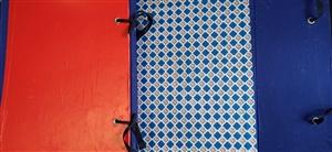 Cặp hộp vuông gáy vải A3 15cm