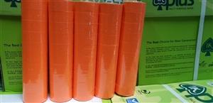 Cuộn dán giá màu cam Saiko