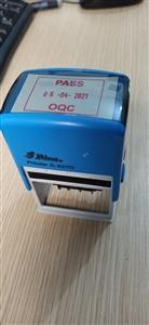 Dấu pass chạy ngày S827D