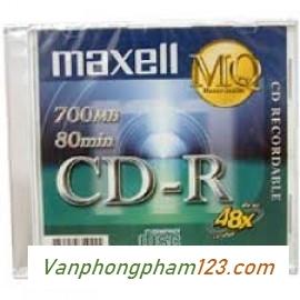 Đĩa CD Maxcell có vỏ