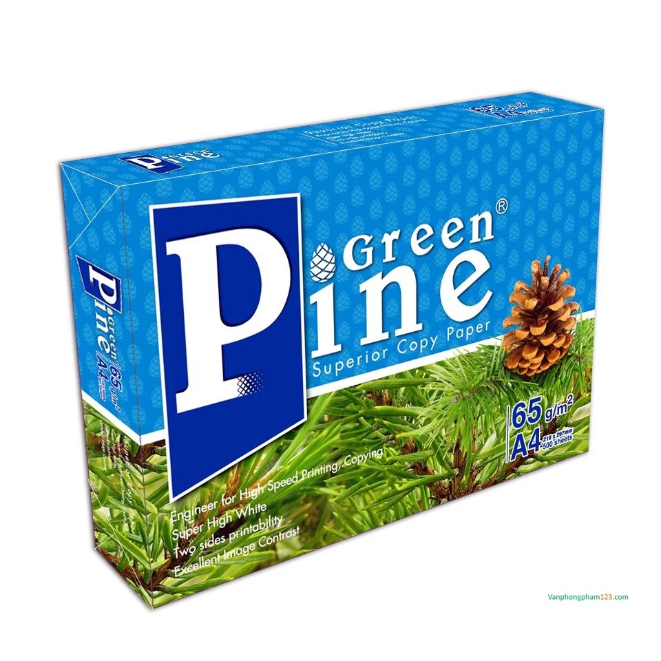 Giấy Green Pine A4 65gsm