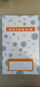 Sổ A4 200tr Raibow