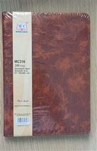 Sổ da cao cấp MC316