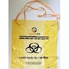 Túi rác y tế có dây rút
